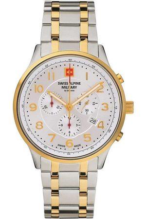 Swiss Alpine Military Reloj analógico Swiss Military 7084.9142, Quartz, 43mm, 10ATM para hombre