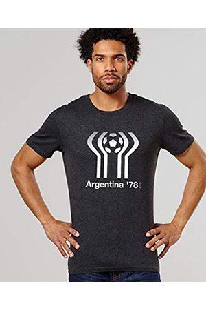 Monsieur Argentina 78 Camiseta, Hombre, Noir Chiné