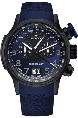 Edox Reloj analógico 38001-TINNBUF3-BUF3, Quartz, 48mm, 10ATM para hombre