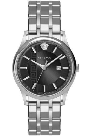 VERSACE Reloj analógico VE4A00520, Quartz, 44mm, 5ATM para hombre