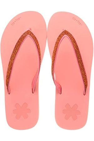 flip*flop FlipGlam, Chanclas Mujer, (Neon Peach)