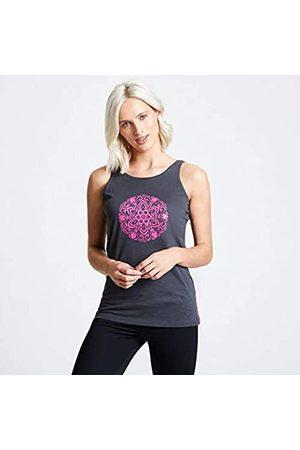 Dare 2B Free Climb-Camiseta De Tirantes Estampada Y Entallada De Algodón T-Shirts/Polos/Vests, Mujer