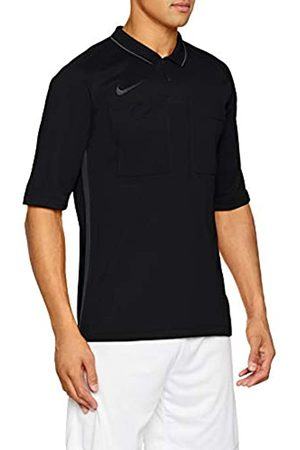 Nike M NK Dry Ref JSY SS T-Shirt, Hombre, Black/Anthracite/Anthracite