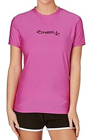 O'Neill WMS Basic Skins - Camiseta de Manga Corta para Mujer, Mujer, Chaleco Protector, 3547-173-L