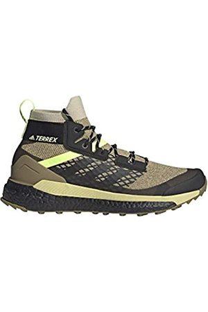adidas Zapatilla Terrex Free Hiker, Botas de Senderismo Hombre, SAVANN/CBLACK/HIREYE