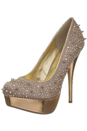 Blink BL 081-422R265 - Zapatos de tacón de Lana Mujer, Color