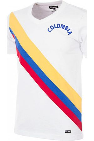 Copa Camiseta Colombia 1973 Retro Football Shirt para mujer