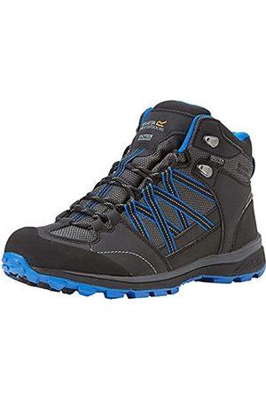 Regatta Samaris II Mid, Walking Shoe Hombre, Ash/Oxford Blue