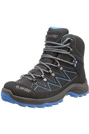 Hi-Tec SPORTHIKE Mid WP Womens, Zapatillas para Caminar para Mujer, Charcoal/Blue