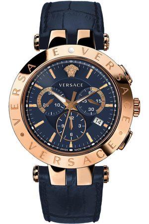 VERSACE Reloj analógico VERQ00120, Quartz, 42mm, 5ATM para hombre