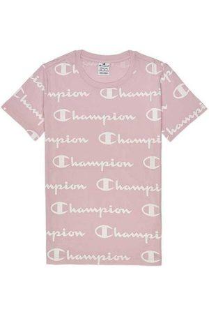 Champion Camiseta Camiseta de cuello redondo (112603) para mujer