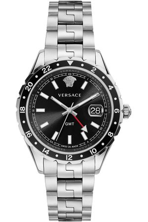 VERSACE Reloj analógico V11100017, Quartz, 42mm, 5ATM para hombre
