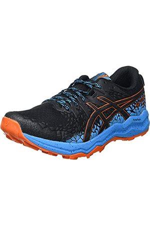 Asics Fujitrabuco Lyte, Trail Running Shoe Hombre, Black/Digital Aqua