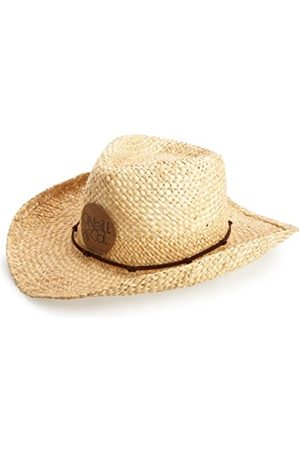 O'Neill O 'Neill Gorro de Pajita de Vaqueros para Hombre, Hombre, Straw Cowboy Hats