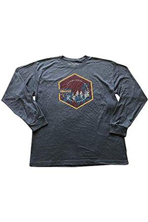 Marmot Deep Forest tee LS - Camiseta de Manga Larga para Hombre, Hombre, 42050-8550-4-M