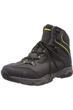 Jack Wolfskin Rock Hunter Texapore Mid, Zapatos de High Rise Senderismo Hombre, (Lime Green 4170)