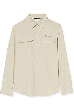 Columbia Camisa de Excursionismo de Manga Larga para Hombre, Silver Ridge II Long Sleeve Shirt