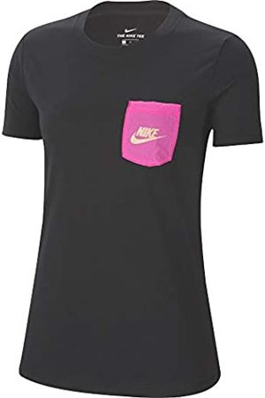 Nike CT8854-010 Camiseta de Manga Corta Icon Clash para Mujer