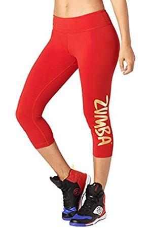 Zumba Fitness Brilla Largo Leggings de la Mujer, Mujer, Shine