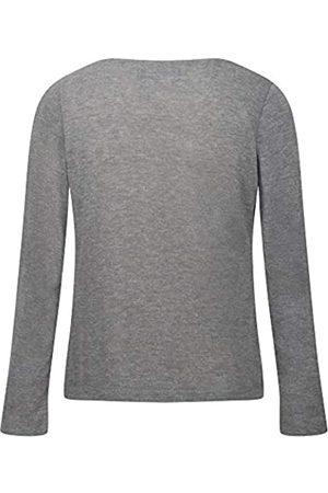 Regatta Frayda - Camisetas/Polos/Chalecos Ligeros con Aspecto de Lana para Mujer Plomo