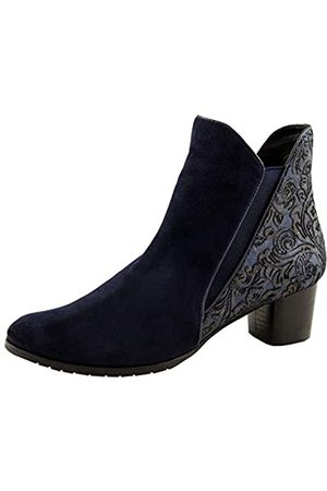 Marc Shoes Giulia, Botines Mujer, (Goat Suede Blue 00916)