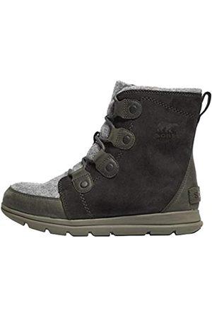 sorel Madson Chukka Waterproof Botas para Nieve, Mujer, (Coal 048)