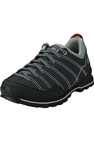 Jack Wolfskin Scrambler W, Zapatos de Low Rise Senderismo Mujer, Phantom/Light Grey 6359
