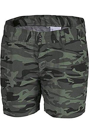 Columbia Silver Ridge Printed – Pantalones Cortos de la Mujer, Mujer, Silver Ridge