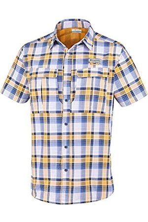 Columbia Cascade Explorer Plaid SS - Camisa para Hombre, Hombre, 1788881