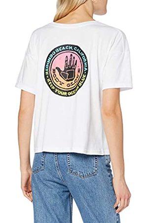 Body Glove Sunrise T-Shirt Camiseta, Mujer, White