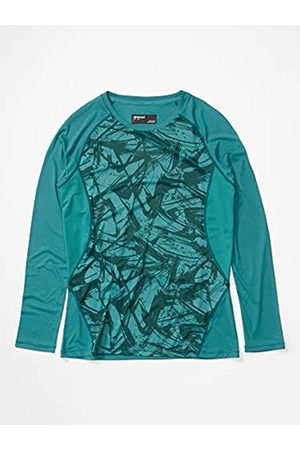 Marmot Wm's Crystal Long Sleeve Camiseta Exterior De Manga Larga, Camiseta, Sudadera Deportiva, con Protección UV, Transpirable, Mujer