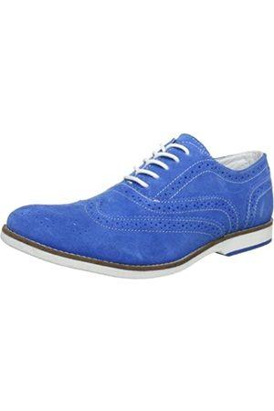 s.Oliver Casual, Zapatos de Cordones Brogue Hombre, -Blau (Sky 833)