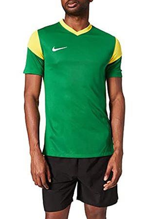 Nike Park Derby III, Jersey de Manga Corta Hombre, Pine Grün/Tour Yellow/Tour Gelb/Weiß