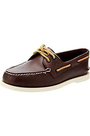 Sperry A/O 2-Eye Leather 9195017 - Zapatillas de gimnasia de cuero para mujer