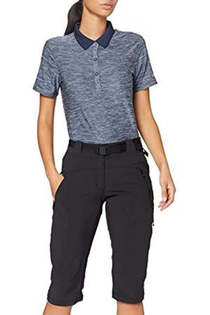 Eider Flex Mid Pant W Pantalón, Mujer, Black-Noir