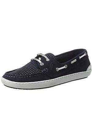 Daniel Hechter 926289011400, Zapatos de Cordones Derby Mujer, Blau (Blue)