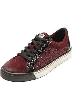 Marc Fabienne, Zapatos de Cordones Derby Mujer, (Bordo-Combi 00452)