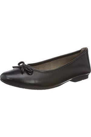 Soft Line 22163, Bailarinas Mujer, (Black Nappa)