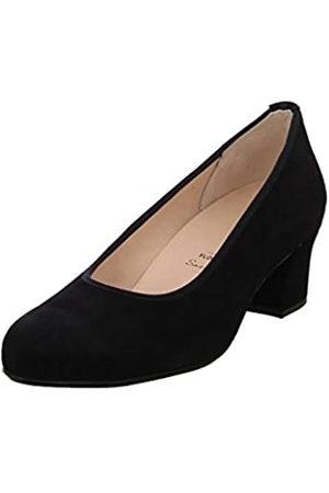 Hassia Florenz, Weite H, Zapatos de Tacón Mujer, (Schwarz 0100)