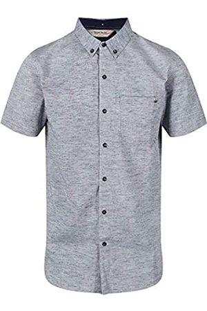 Regatta Damaso Coolweave - Camisa de Manga Corta para Hombre, Hombre, Camisa, RMS119