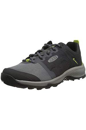 Keen Explore Vent, Zapatos para Senderismo Hombre, Imán/Chartreuse
