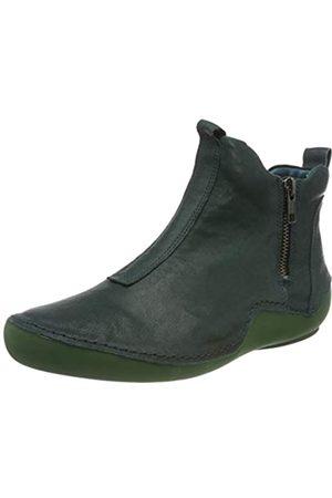 Think! Kapsl_3-000046 , Botas Cortas al Tobillo para Mujer , Verde ( 7000 Pino/Kombi )