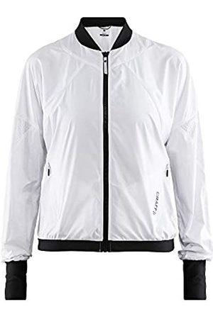 Craft Charge Trainingsjacke-Weiß, Schwarz Chaquetas, Mujer