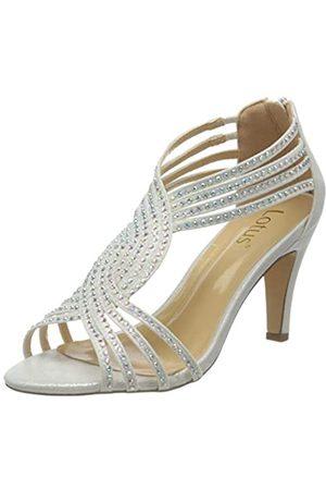 Lotus Nicole, Zapatos de tacón con Punta Abierta Mujer, (Ice 0w)