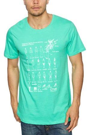 O'Neill Camiseta de Manga Corta Evolution Estampada para Hombre, Hombre