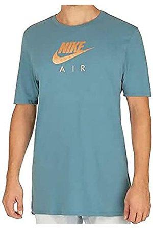 Nike M NSW tee Air Hrtge Virus Ink Camiseta de Manga Corta, Hombre