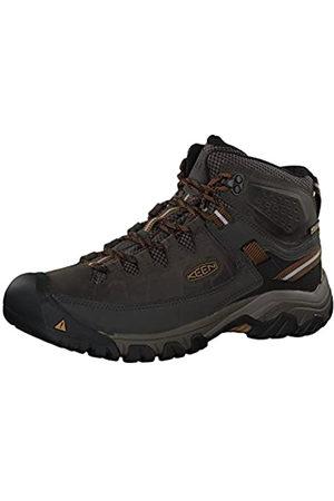 Keen Targhee III Waterproof Mid, Zapatos de High Rise Senderismo Hombre, (Black Olive/Golden Brown 0)