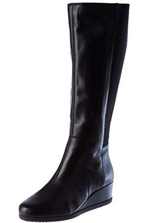 Geox D ANYLLA WEDGE I BLACK Women's Boots Classic size 37