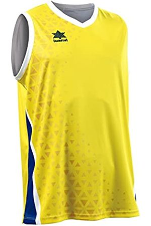 Luanvi Basket Cardiff Camiseta Deportiva sin Mangas de Baloncesto, Hombre, /