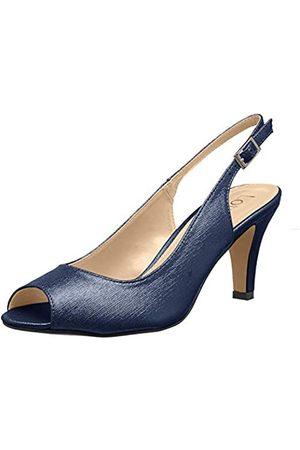 Lotus Larissa, Zapatos de tacón con Punta Abierta Mujer